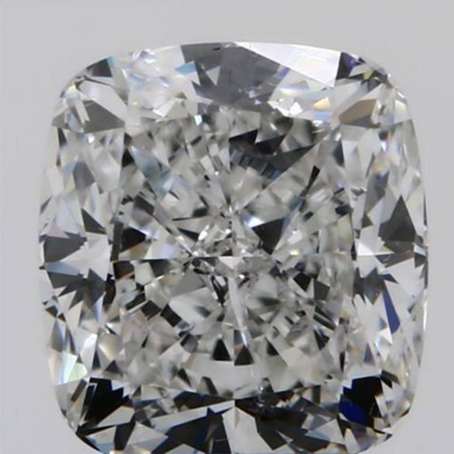 example of a crushed ice cushion cut diamond