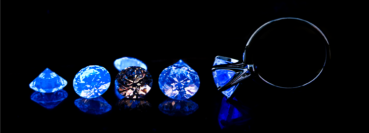 BGD Signature Blue Diamonds