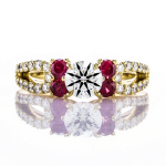 Custom Ruby Ring BGD