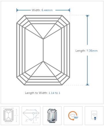 Generic Super Ideal Diamond from Brilliance.com