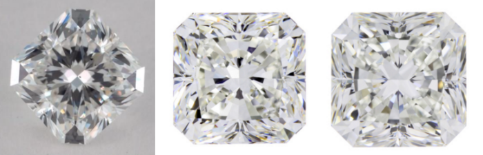 Square Radiant Cut Diamond
