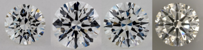 2 carat diamond comparison