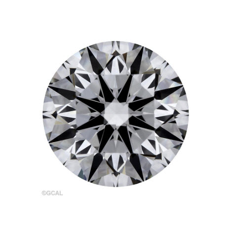 1.41ct Blue Nile Signature Round Diamond
