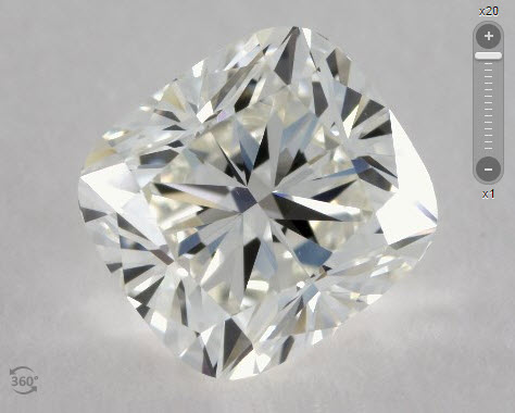 James Allen Cushion Cut Diamonds