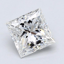 Princess Cut Diamond from Blue Nile
