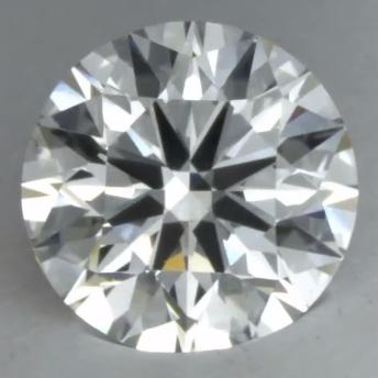 eye-clean SI1 diamond from Ritani