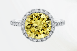 Fancy Yellow Diamond Engagement Rings