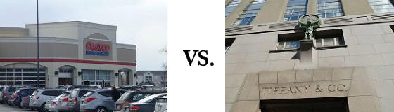 Costco vs. Tiffany
