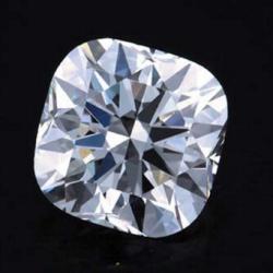 H&A Cushion cut diamond