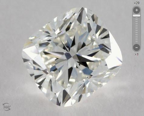 James Allen Cushion Cut Diamonds