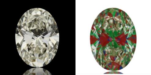 Oval Shaped Diamond