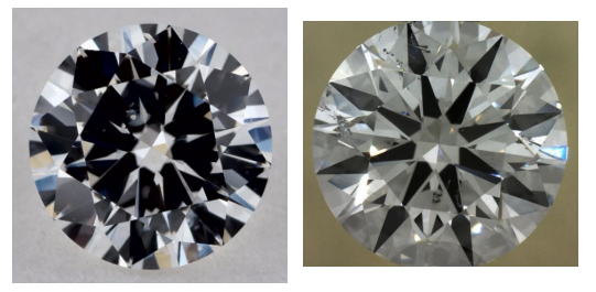 D color SI1 clarity diamonds